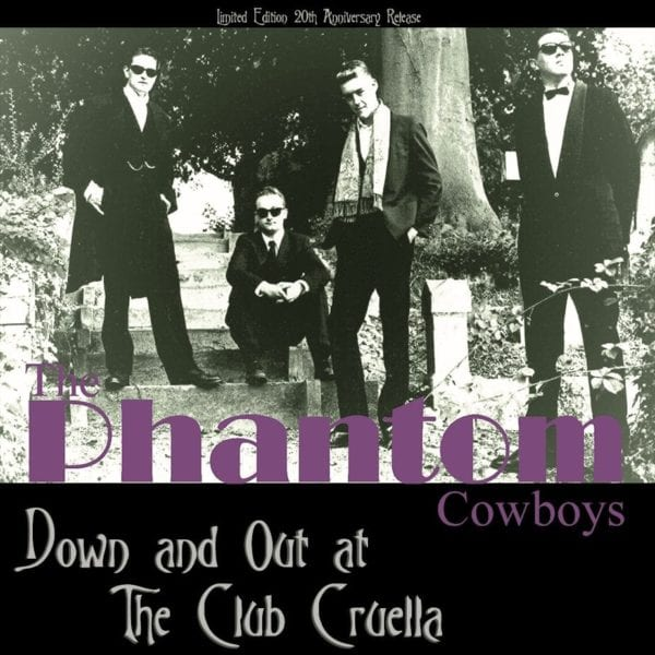 Club Cruella LP vinyl reissue cover
