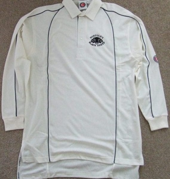 Black Sheep cricket shirt